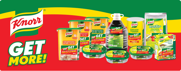 Knorr Get More SMS promo