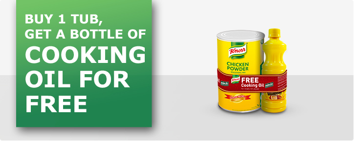 Cook up a storm with Knorr Chicken Powder