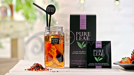 Pure Leaf™ Iced tea – How to serve a perfect Exotic Iced Tea with Berries