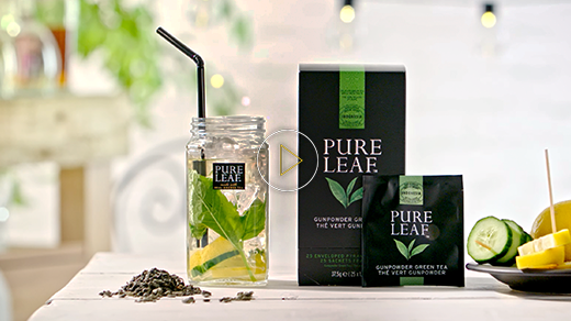 Pure Leaf™ Iced tea – How to serve a perfect Refreshing Gunpowder Green Iced Tea